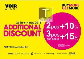 VOIR Additional Discount 2013