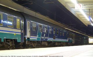 Ferrovie in calabria dicembre 2013 - Trenitalia vagone letto ...