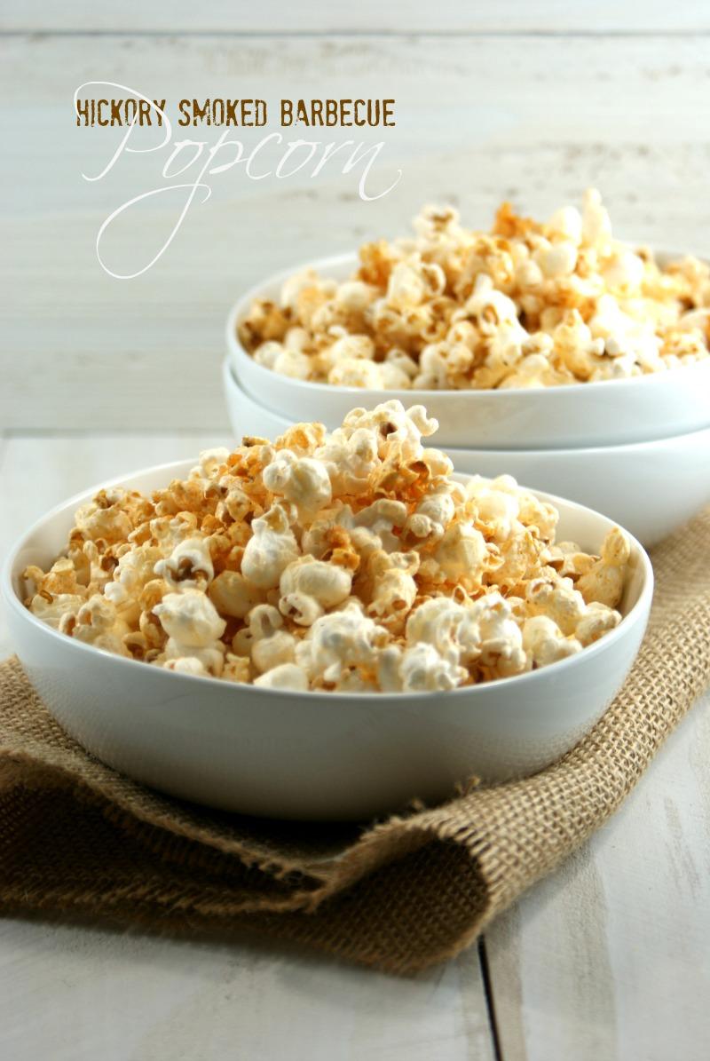 ... Suburban Gourmet: Hickory Smoked Barbecue Popcorn | Friday Night Bites
