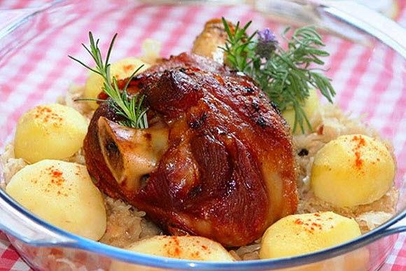 #receita de #eisbein #joelho de #porco #assado