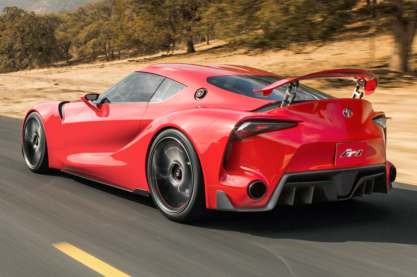 2015 Toyota FT-1 Comes with sport style