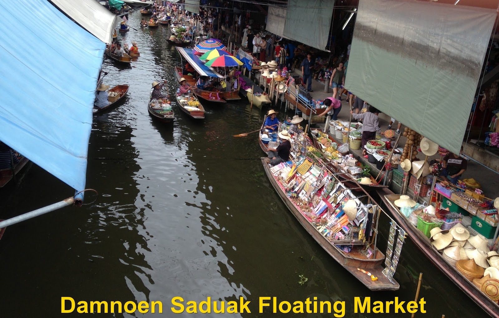 FoodieFC: Damnoen Saduak Floating Market (Thailand, Bangkok)