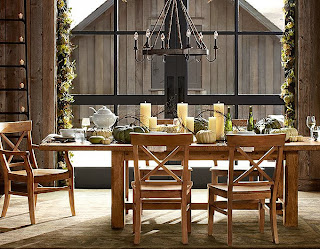 Pottery barn dining rooms