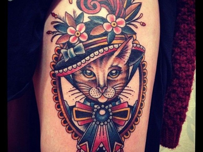 Tatuajes de gatos y su significado belagoria la web de for Tatoo gatos