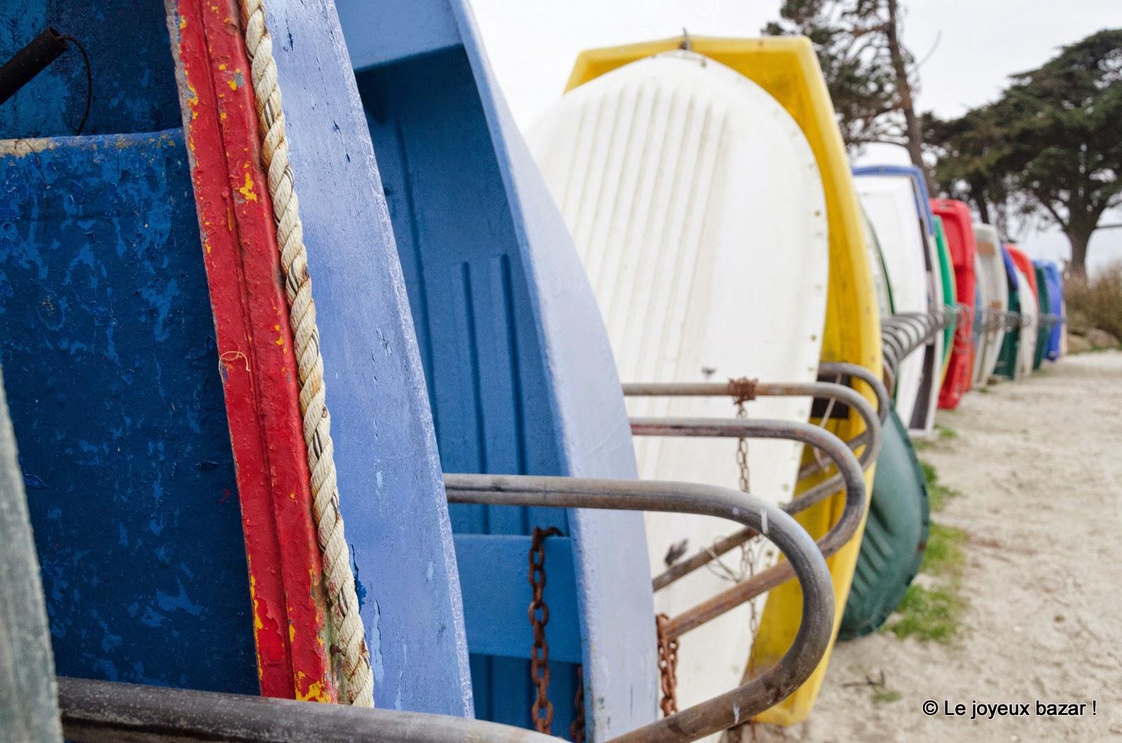 Bretagne - Cap Coz - barques