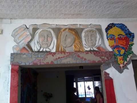 Mural en Fuentealba