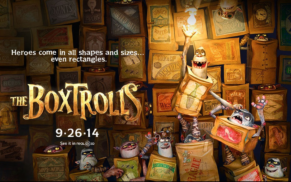 Trailer and Poster of The Boxtrolls from Laika : Teaser ...