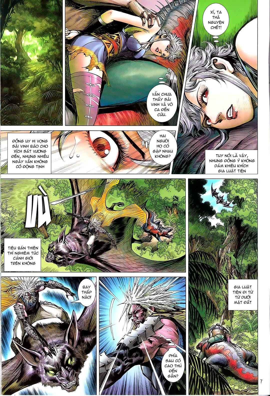 tuoithodudoi.com Thiết Tướng Tung Hoành Chapter 110 - 7.jpg
