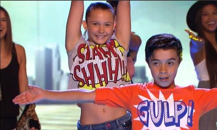 Alvaro y María bailan con Dreamland: Final Pequeños Gigantes