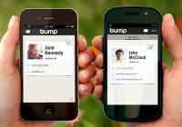 scambiare foto scontrando i cellulari con Bump