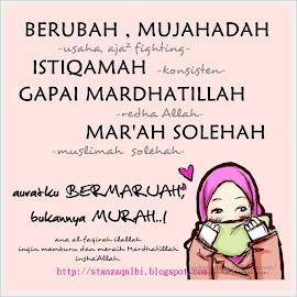 Mencari Mardhatillah :) ...