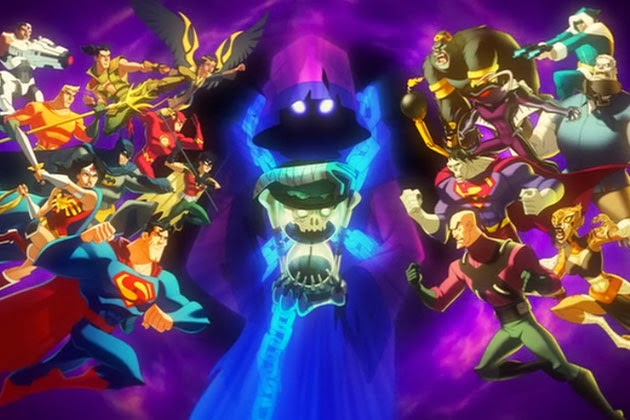 Justice League Animated DVD cartoon