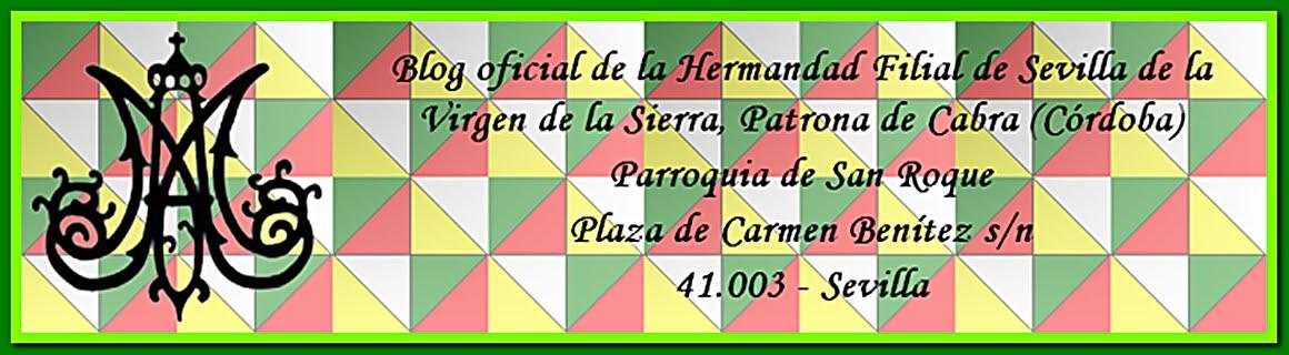 Hdad. Filial de Sevilla de la Virgen de la Sierra