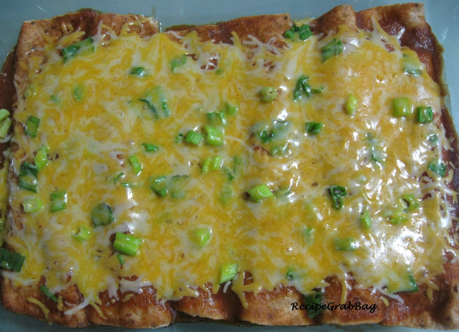 RecipeGrabBag: Quick and Easy Vegetarian Enchiladas