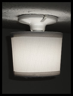 Basement Light Fixture Hack