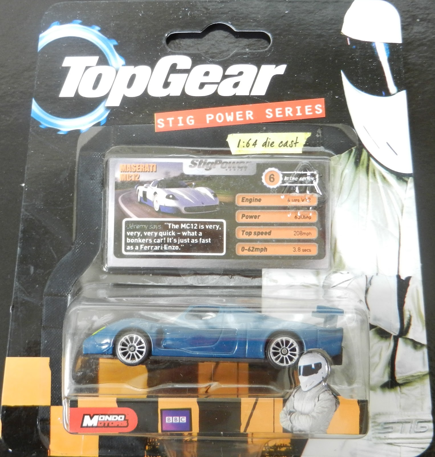 Top Gear Car Darts Top Gear Cars in Stock