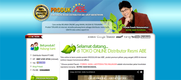 Planetpasutri.com Toko Online Produk ABE Terpercaya