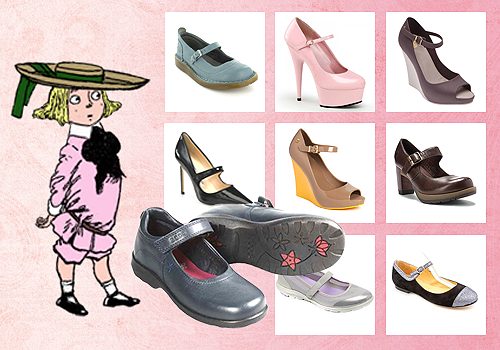 Sepatu Wanita Model Mary Jane
