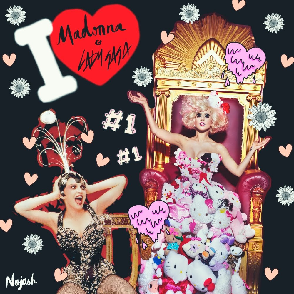 I love Madonna & Lady Gaga (Facebook)