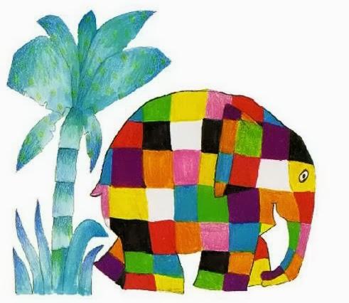 Afbeeldingsresultaat voor elmer de olifant