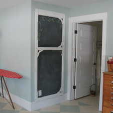 Screen Door Chalkboard