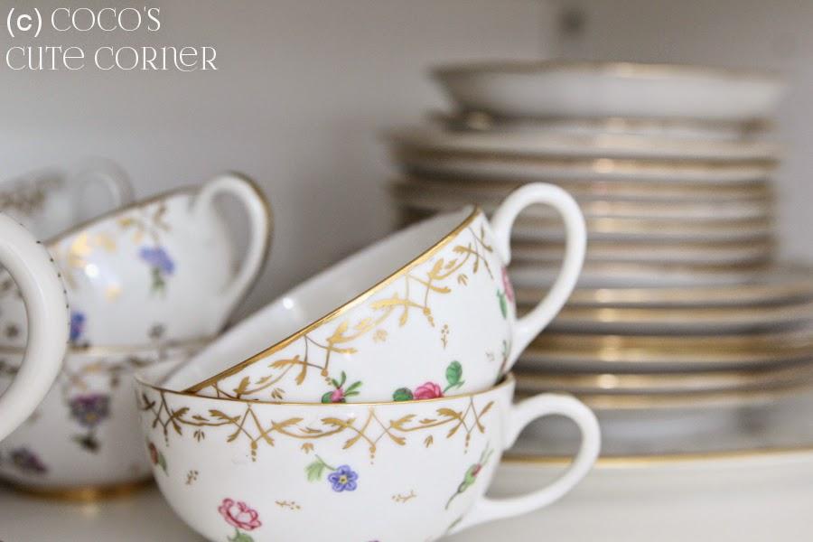 Handpainted Tea China