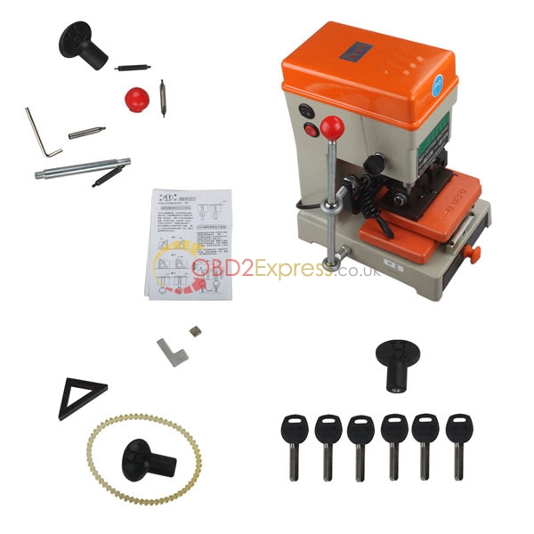 Duplicate car key making machine 13