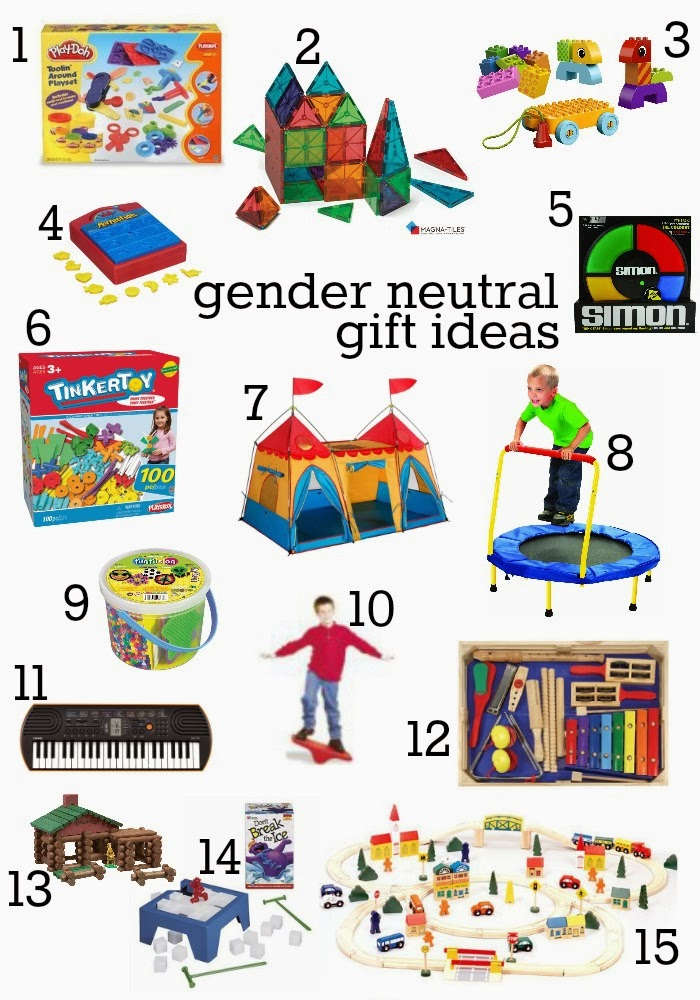 Gender neutral Christmas gifts | The How To Mom