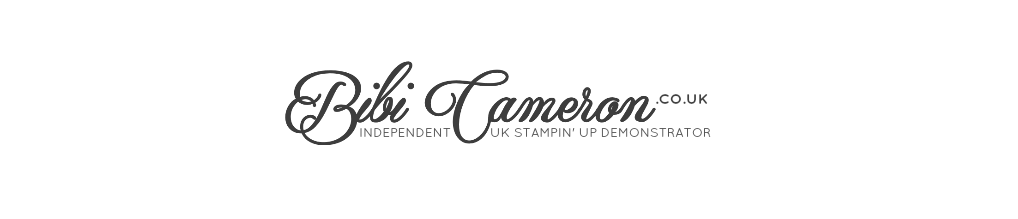 Independent UK Stampin' Up! Demonstrator Bibi Cameron