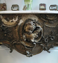 Antique console table....