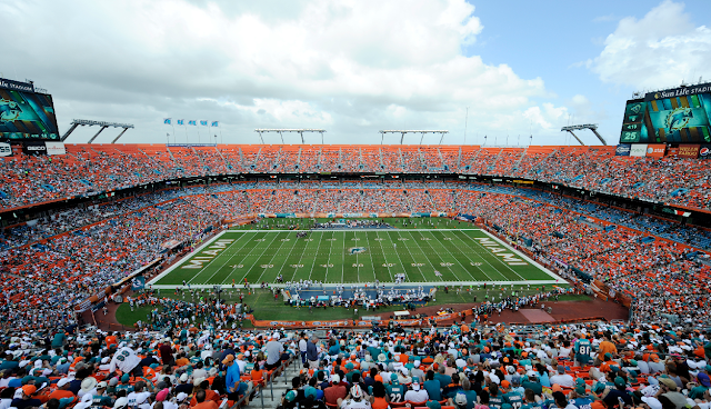 Quem pode ir assistir aos jogos da NFL em Miami?
