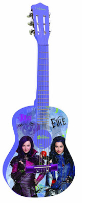JUGUETES - DISNEY Los Descendientes  Guitarra clásica | Lexibook K2000TD | Descendants  Comprar en Amazon España