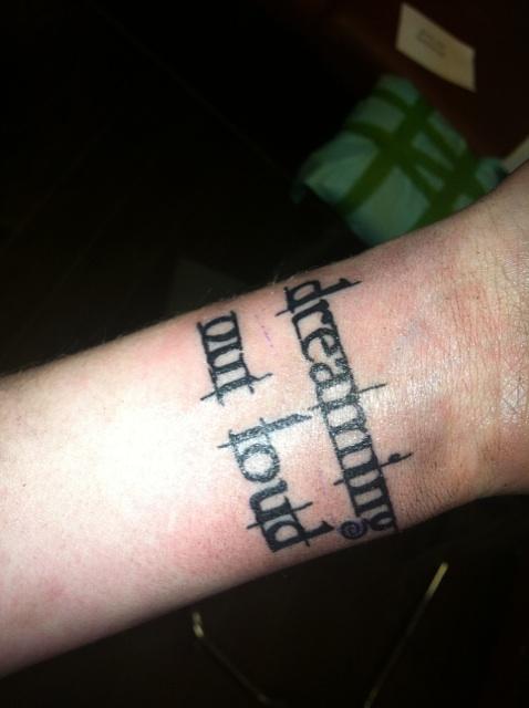 Twilight saga inspired tattoos twilight font tattoo for Twilight movie tattoo