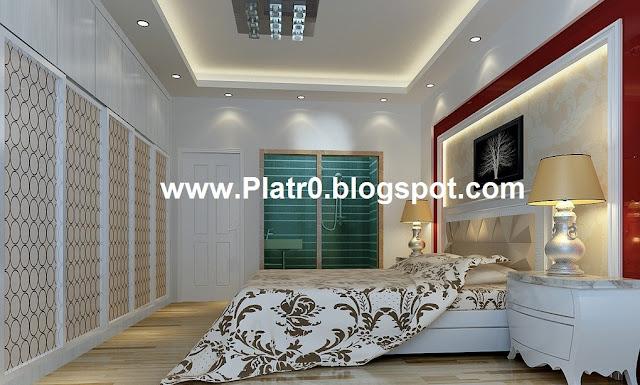 Chambre A Coucher Italienne 2016 : Plafond chambre coucher décoration platre maroc