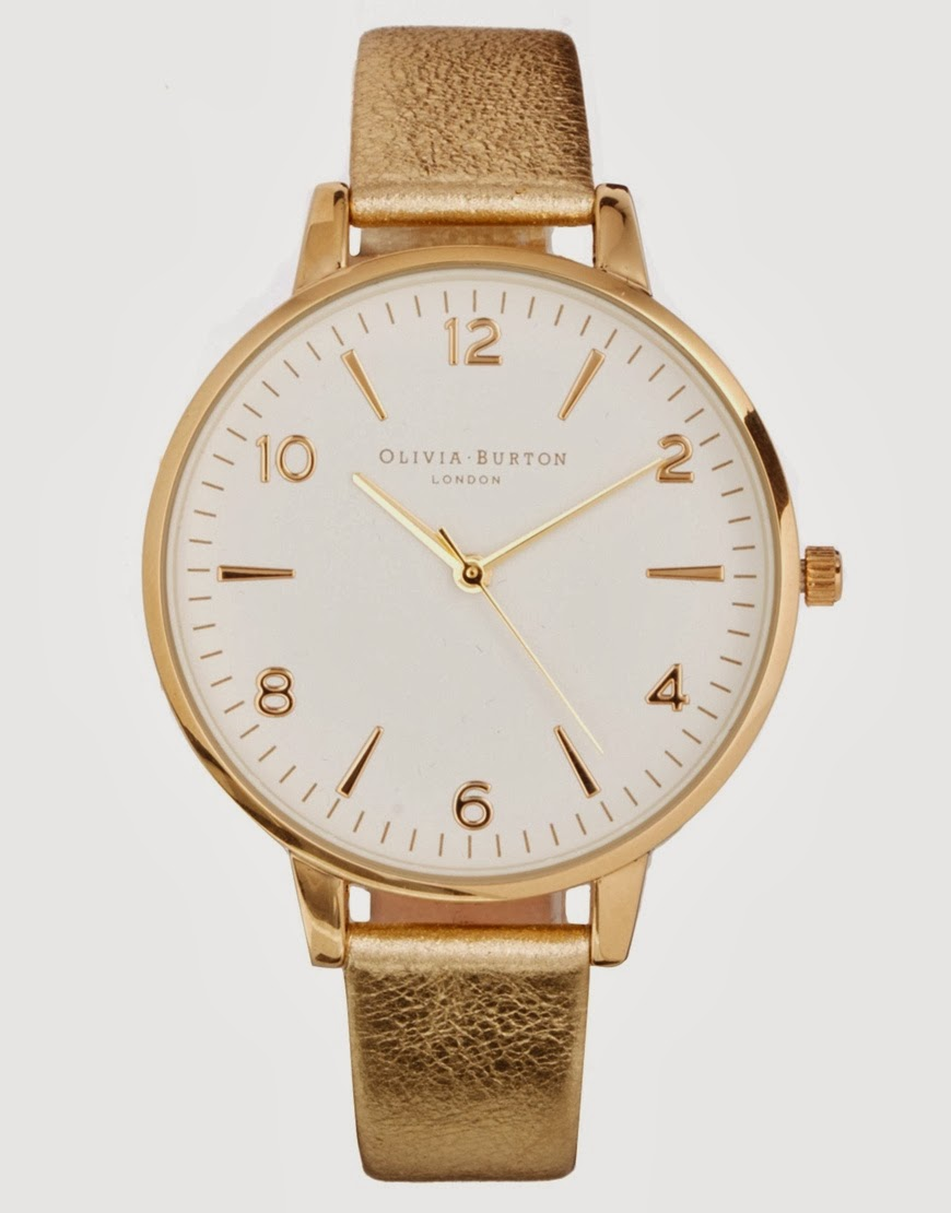 olivia burton gold watch