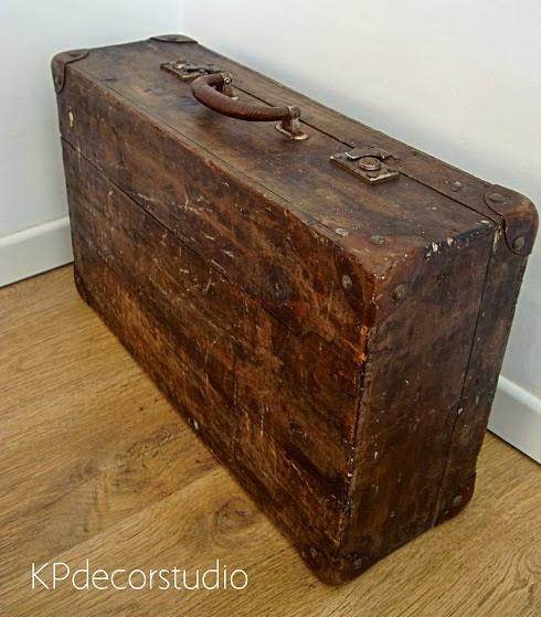 Comprar maletas de madera online