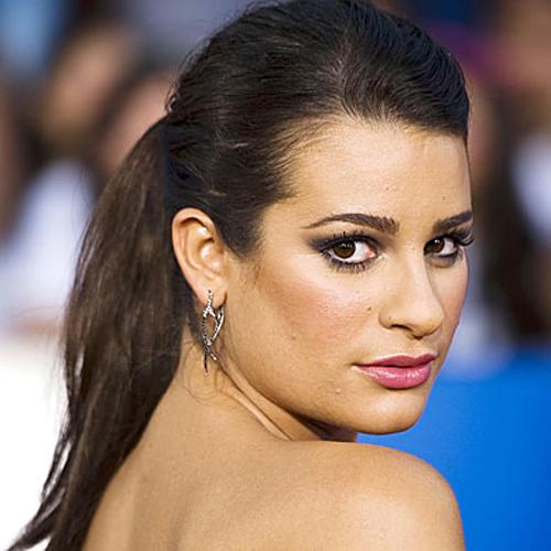Lea Michele - Ponytails