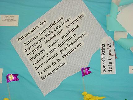 Grupo de la concha inauguran biblioteca ma cristina de for Editorial de un periodico mural