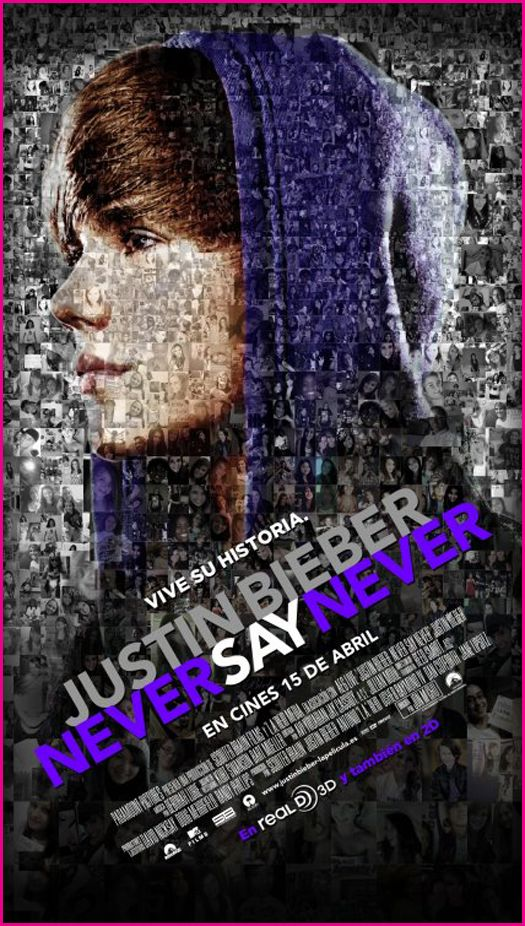 justin bieber never say never movie cover. quot;Justin Bieber - Never Say