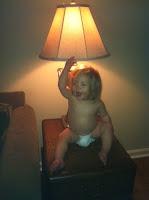 Crazy kid!