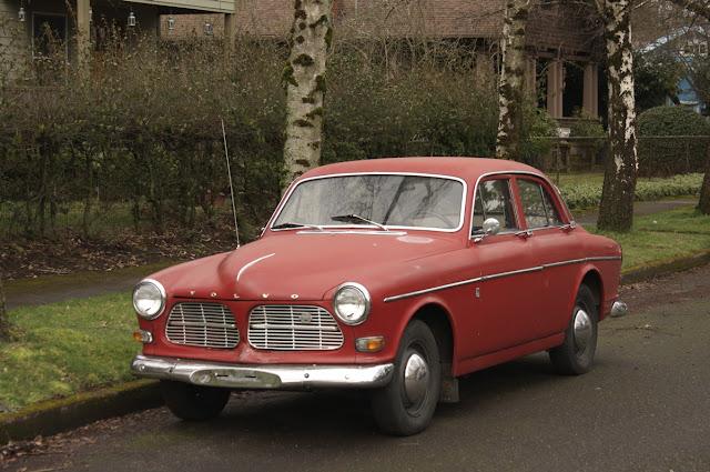 1967 Volvo Amazon 122S sedan.