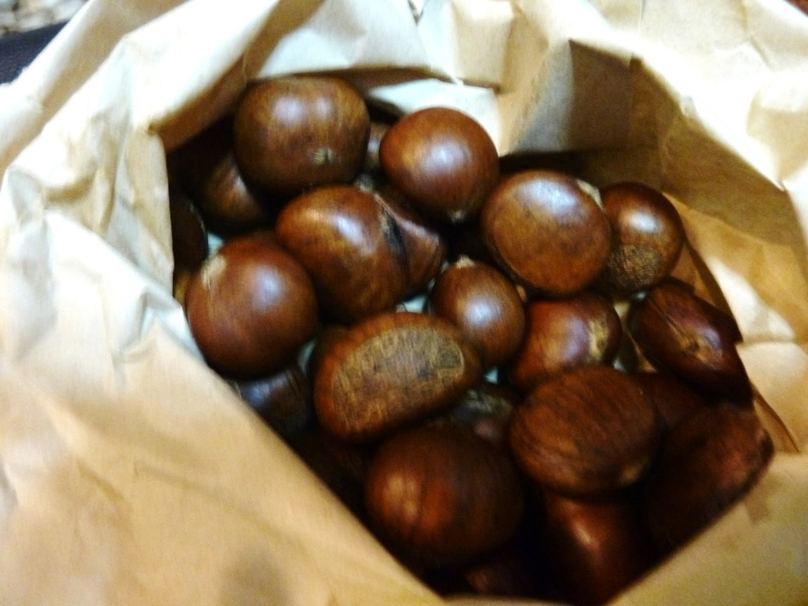 Life's Little Surprises : Roasted Chestnuts at a sidewalk ...