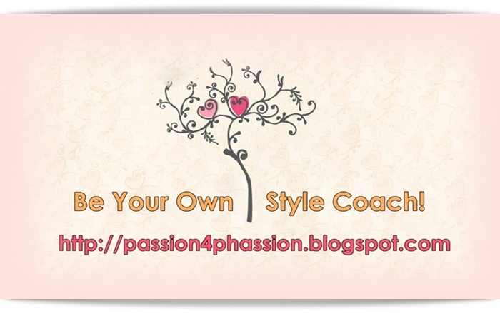 Be your own style coach!  