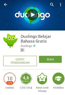 Belajar Bahasa Dengan Aplikasi Duolingo Menyenangkan