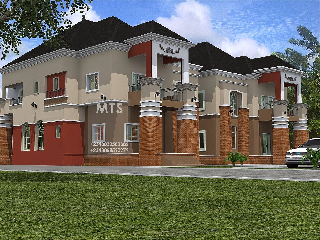 Mr chris 4 bedroom twin duplex residential homes and for Duplex bed