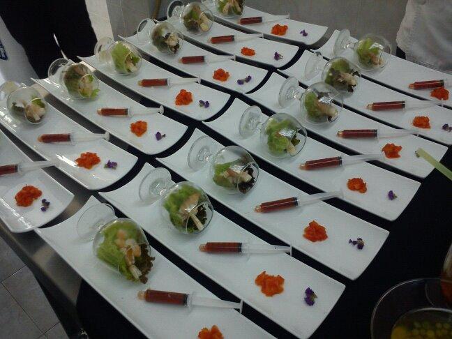 Diclak platillos deconstruidos de los lacandones for Deconstruccion gastronomica