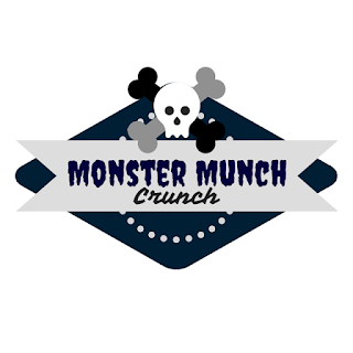 Monster Munch Crunch label front