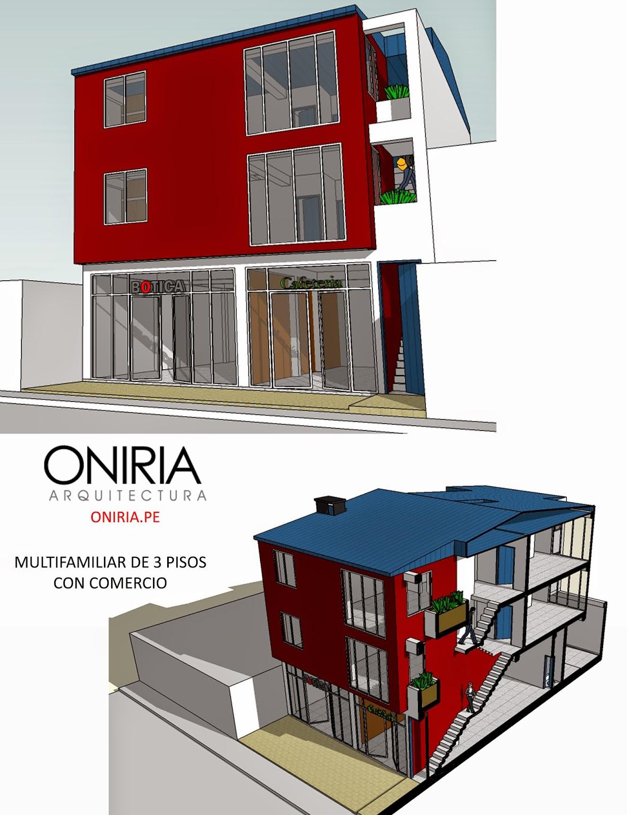 Oniria dise o de viviendas multifamiliares for Diseno de viviendas