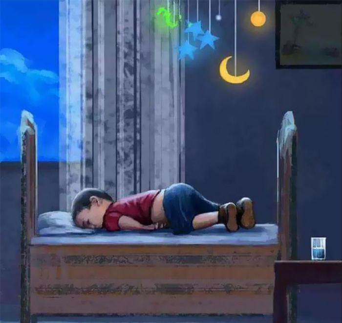 Artists Around The World Respond To Tragic Death Of 3-Year-Old Syrian Refugee - How His Story Should Have Ended...