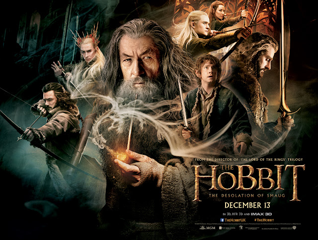 he Hobbit: The Desolation of Smaug Teaser Poster